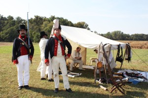 Eastern Shore Militia performing at the 2013 Jamboree.