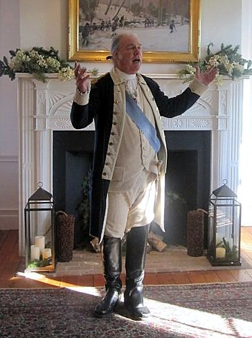 David Emerson as General George Washington